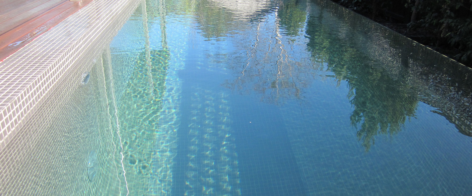 Pool paving and coping